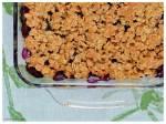 Blueberry Crumble kake2kale