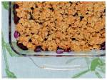 Blueberry Crumble kake2kale