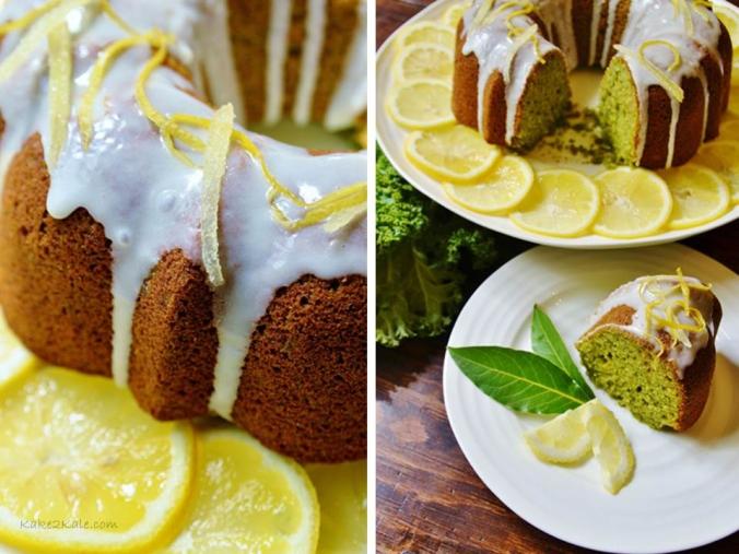 Ginger Kale Cake