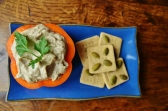Miso Mushroom Pate & Oat Crackers