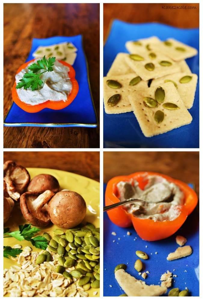 Miso Mushroom Pate - Kake2Kale