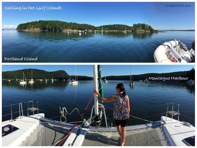 Gulf Islands Sailing kake2kale