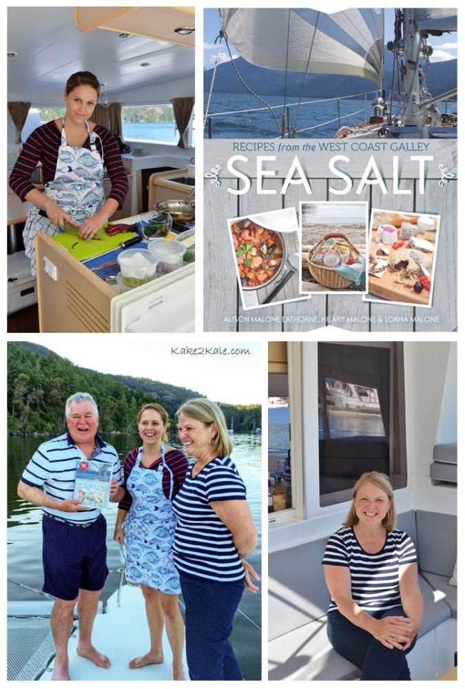 sea salt cook book - kake2kale
