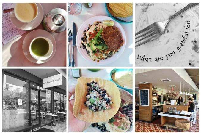 LA Cafe Gratitude Kake2Kale