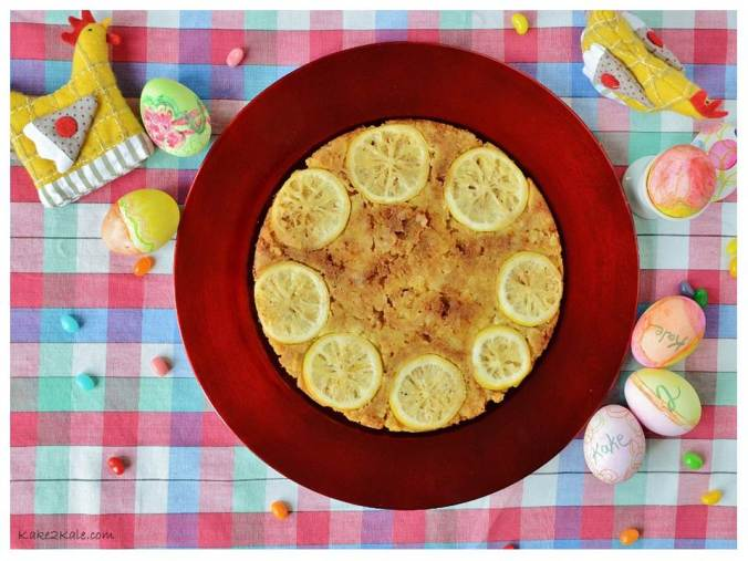 Easter - Lemon Sunshine Cake from Kake2Kale 2