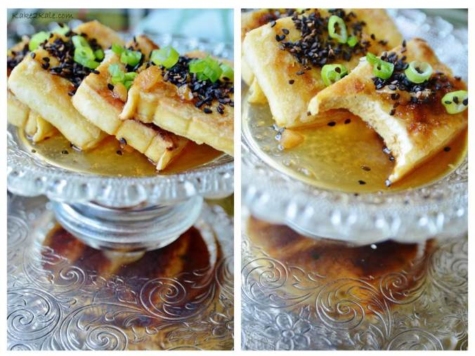 Black Sesame Tofu Kake2Kale.com