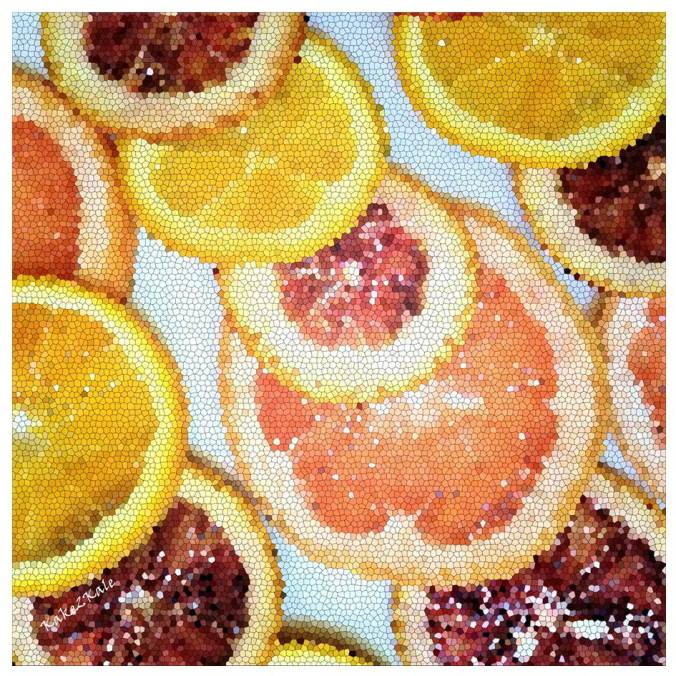 Citrus Fruits by Kake2Kale