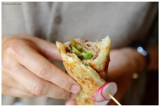 Miso Beef Sandwich Kake2Kale.com