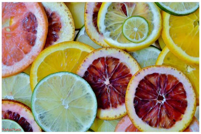 Mixed Citrus Fruits by Kake2Kale