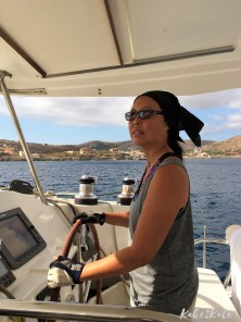 Kake2Kale - Sailing Greece - Blogger/Photographer At The Helm