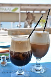 Kake2Kale - Sailing Greece - Greek style coffee frappe