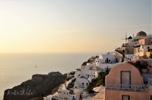 Kake2Kale - Sailing Greece - Oia, Santorini