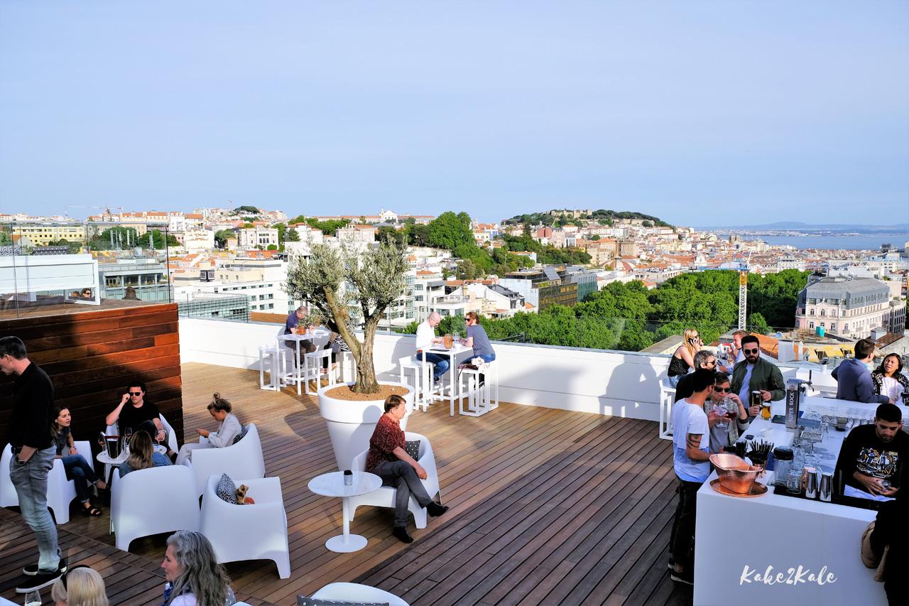 Kake2Kale Lisbon Portugal - Sky Bar
