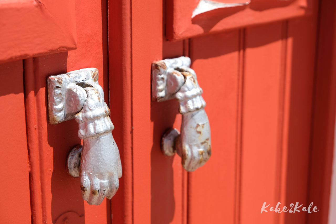 Kake2Kale Wild Coast Portugal - Moorish door knockers of Tavira