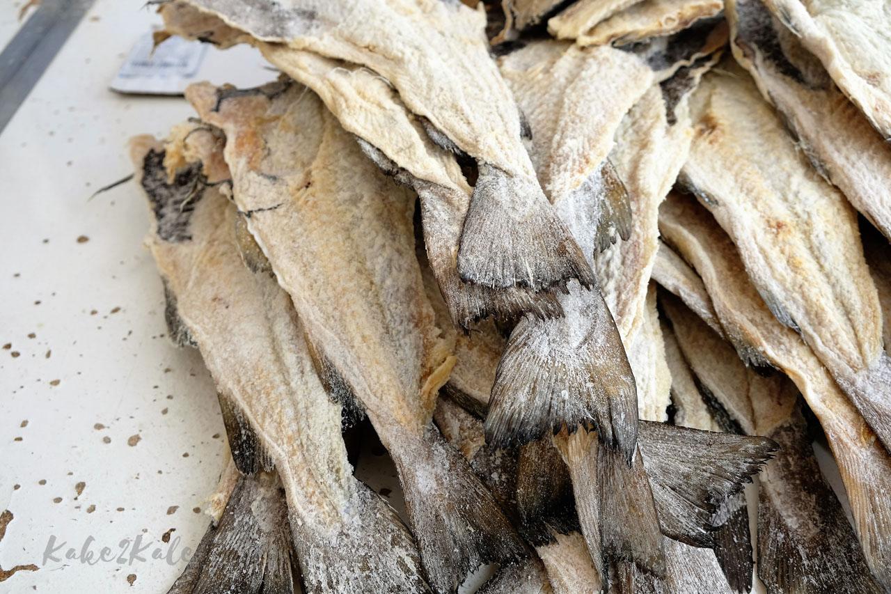 Kake2Kale Wild Coast Portugal - salted cod ( bacalao)
