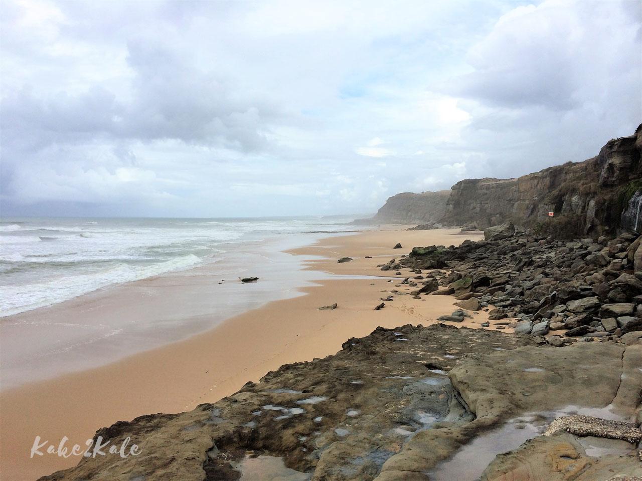 Kake2Kale Wild Coast Portugal - Seixo Beach (Santa Cruz)